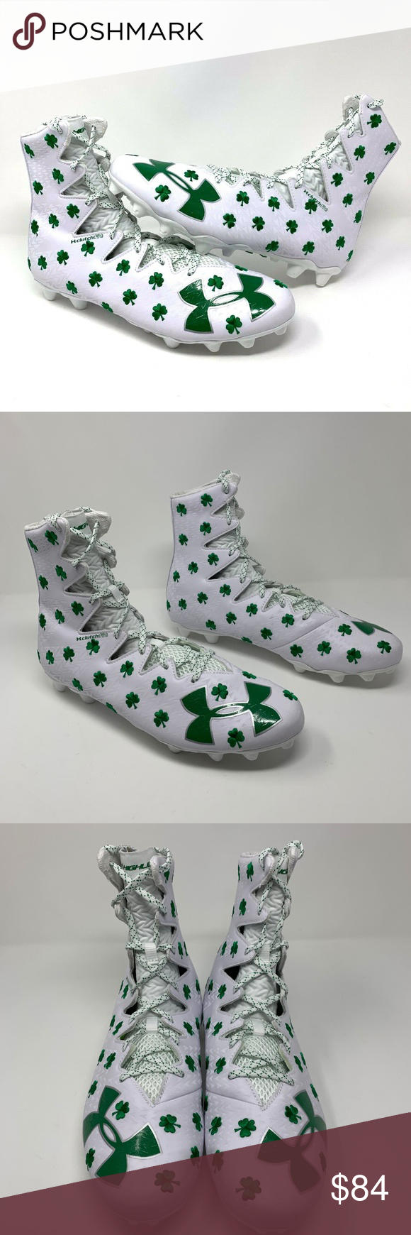 5e1c4c6c32c2 Under Armour Limited Edition Shamrock Cleats - 13 Under Armour Men's Limited  Edition Shamrock Highlight Cleats