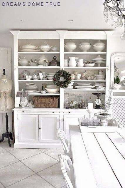 White Ironstone White Ironstone In 2018 Pinterest Kitchen