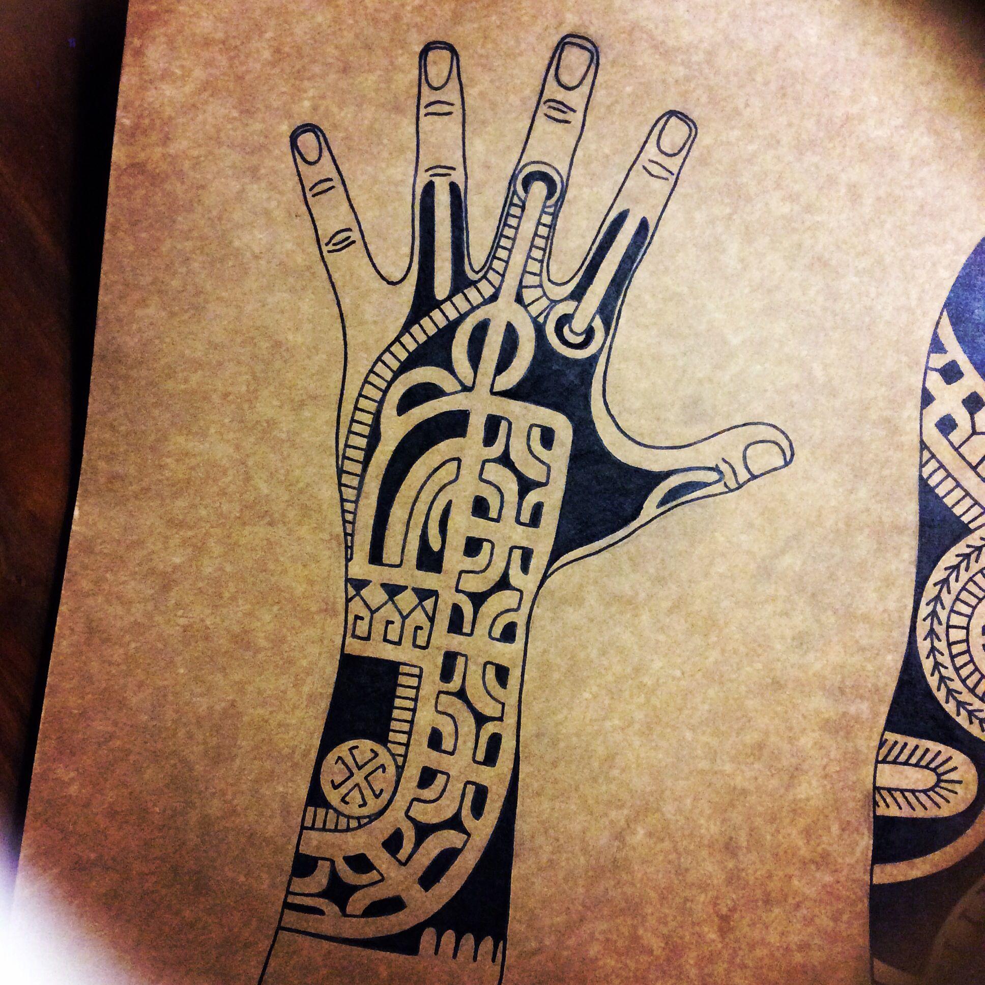 Marquesan tattoo, tatatu, polynesian tattoo