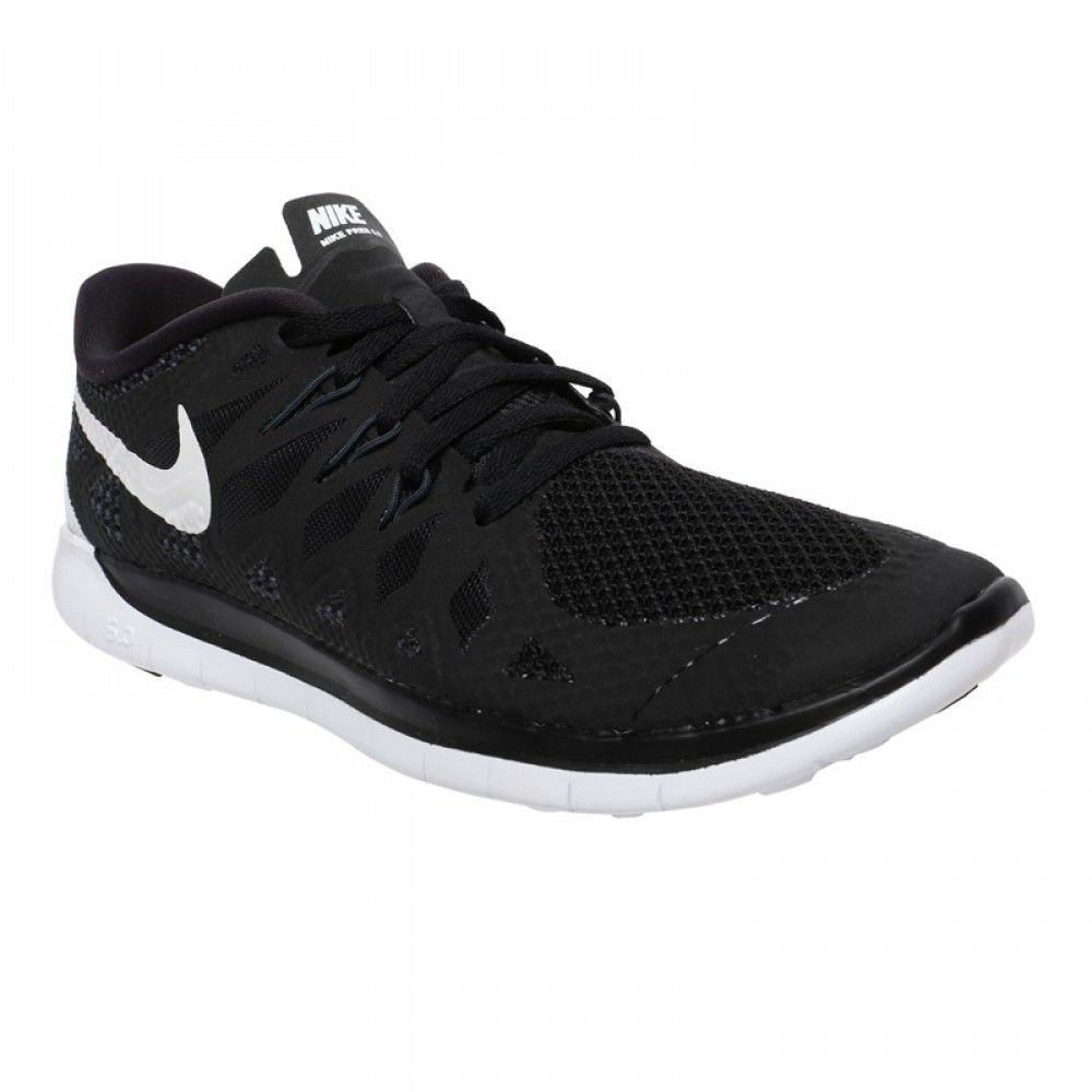 Nike Free 5.0 Running Shoes - Black/White