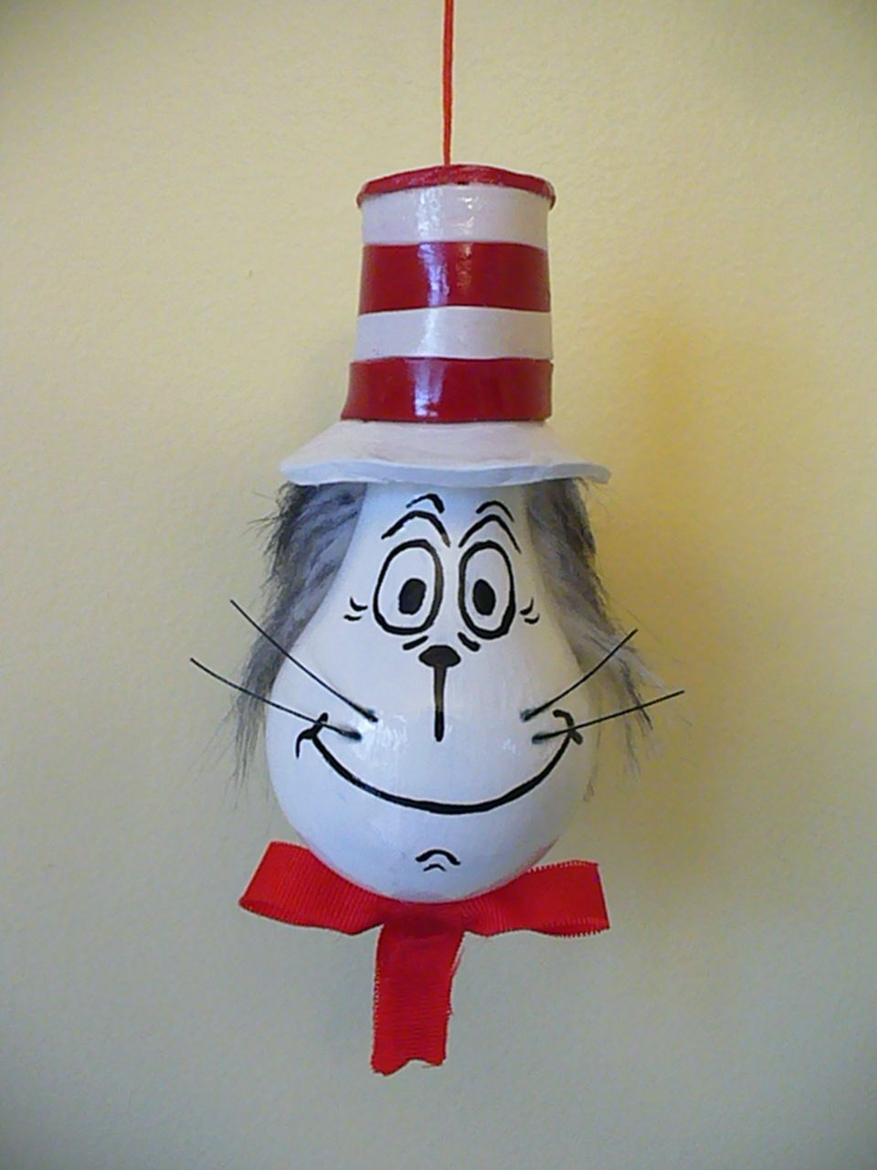 Cat in the hat ornaments - The Cat In The Hat Light Bulb Ornament Standard Light Bulb Oven