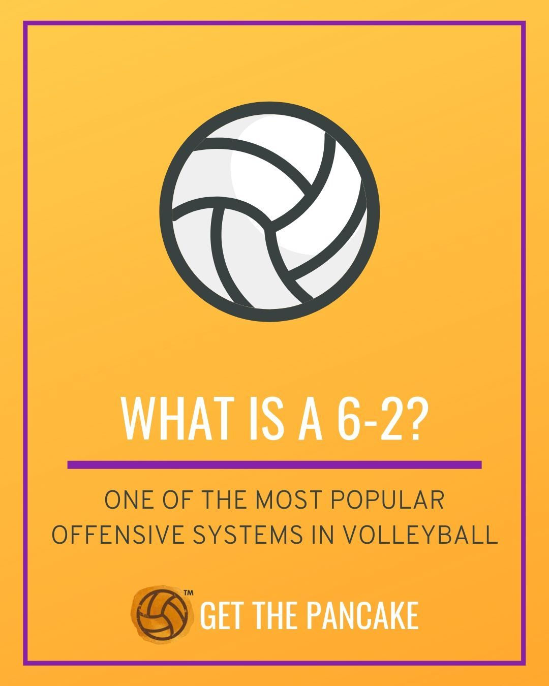 Volleyball Basics Explained What Is A 6 2 In Volleyball Coaching Volleyball Volleyball Tips Volleyball Inspiration