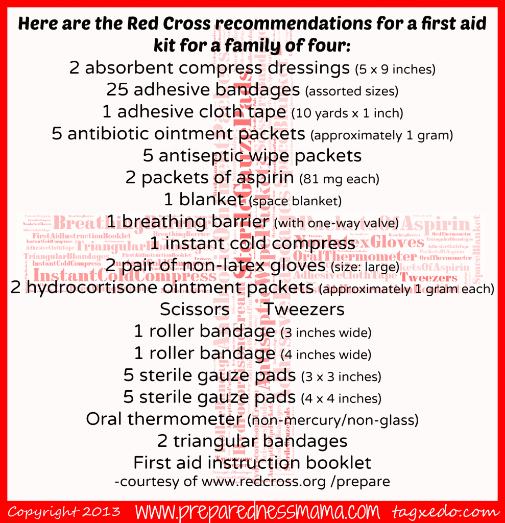 First Aid Kit: Beyond the Band-Aid | PreparednessMama