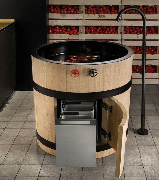 moderne küchenspüle edelstahl armaturen landhausstil | wohnen, Möbel