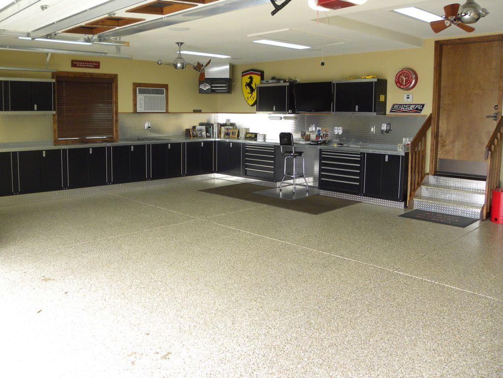 Global Garage Flooring Design Of San Antonio Garage Interior