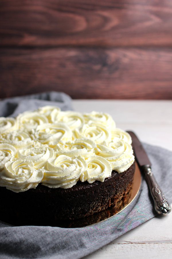 Wicked sweet kitchen: Mocha cake with mascarpone frosting