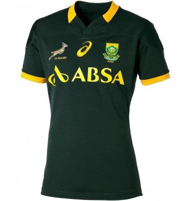 Asics South Africa Springboks Fan Home Rugby Jersey Http Www Fentonsportsonline Com Rugby 5226 Thickbox Default Asics South A Rugby Jersey Rugby Shirt Rugby