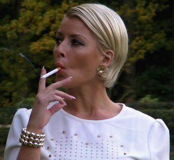 naked women smoking cigarettes