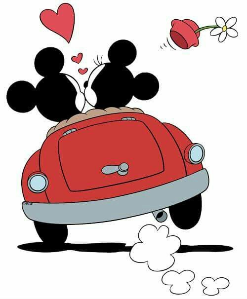 Minnie Et Mickey Mickey Mouse Cartoon Mickey Mouse Drawings