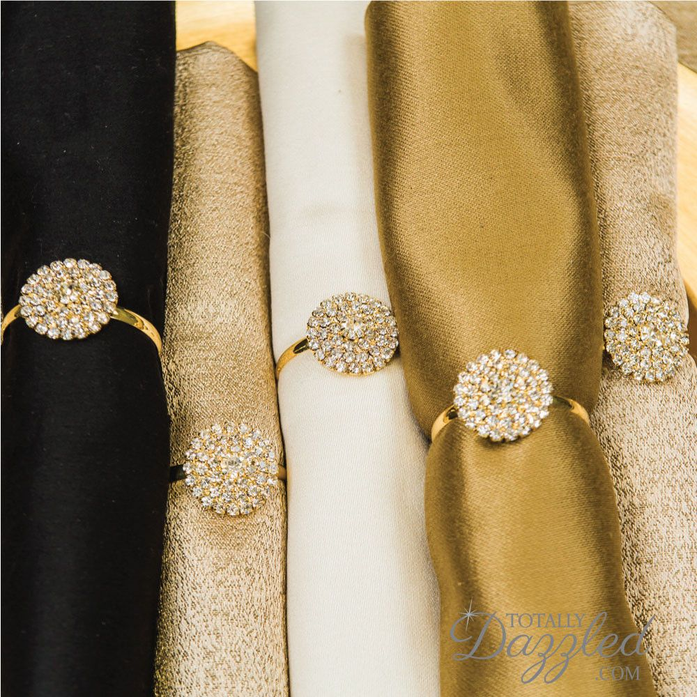 Explore Gold Rhinestone Wedding And More Totally Dazzled