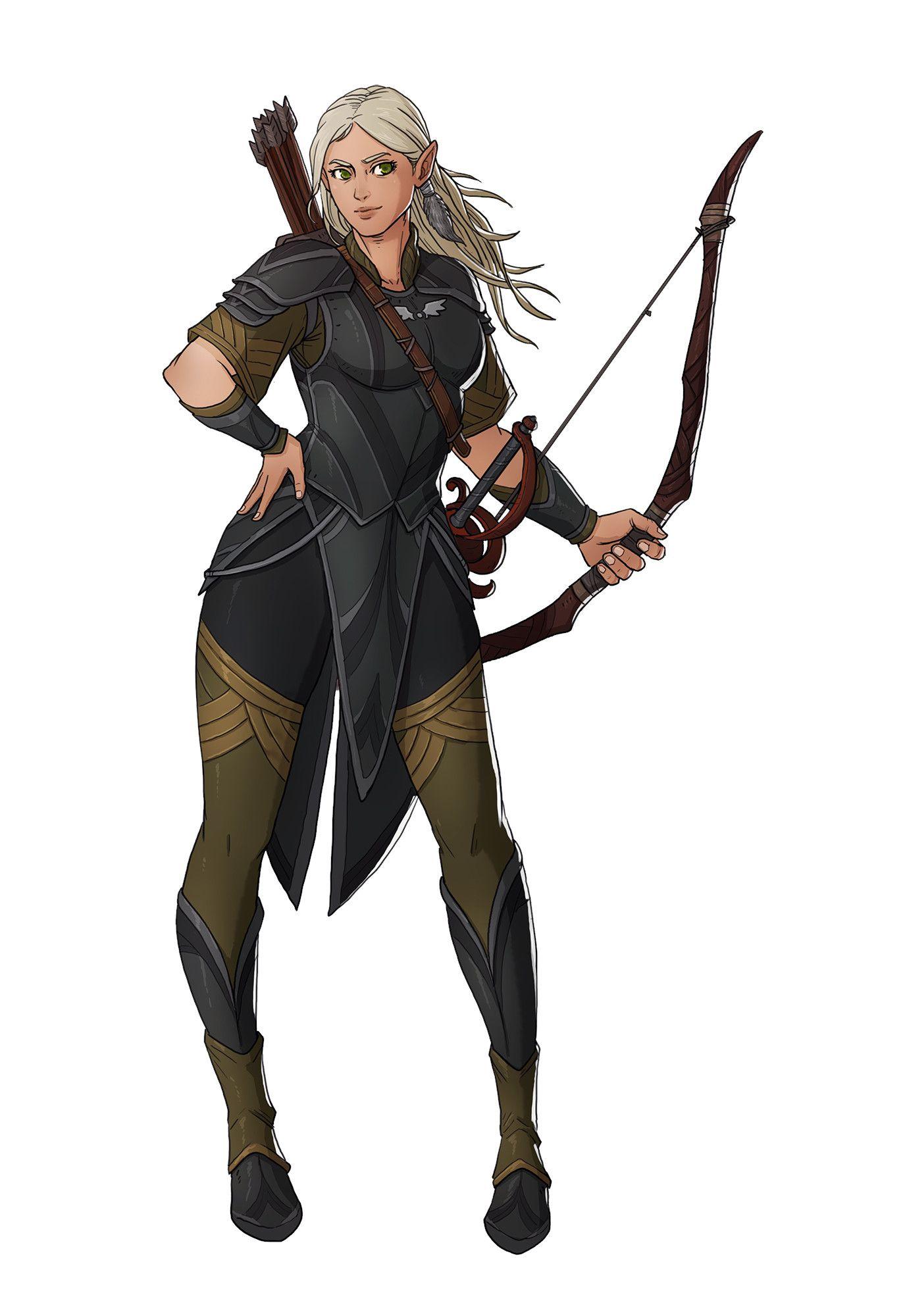 ArtStation - RPG Character Set 09, Ernesto Irawan