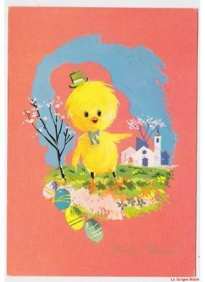 Glossy greeting cards with chicks card of easter vintage chick glossy greeting cards with chicks card of easter vintage chick humanized eggs m4hsunfo Gallery