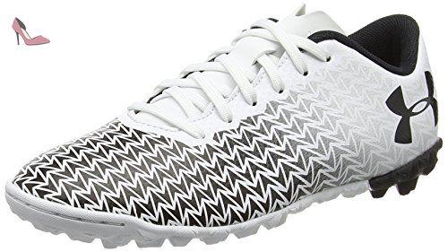 UA CF Force 3.0 TF, Chaussures de Football Homme, Noir (Black), 40.5 EUUnder Armour