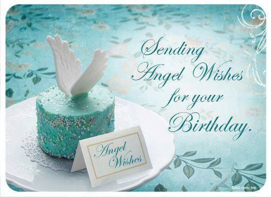 Its Your Birthday Happy Ecard Angel Greetings