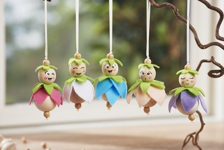 Photo of Cute little flower fairies