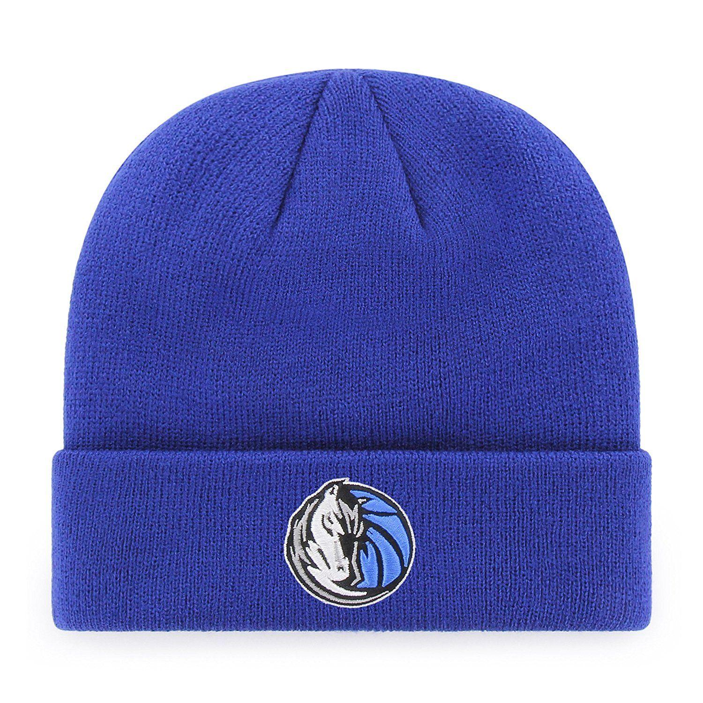 Dallas Mavericks NBA OTS Raised Cuff Knit Cap a0e95a3da15