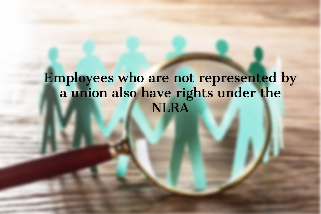 How does the National Labor Relations Act affect my