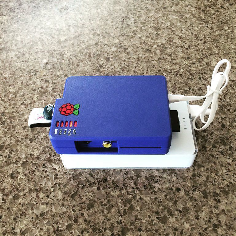 Something we loved from Instagram! Portable #raspberrypi used for reading #Ibeacons. Know where your pi is with the #beaconair project at switchdoc.com/beacon air-ibeacons by switchdoclabs Check us out http://bit.ly/1KyLetq