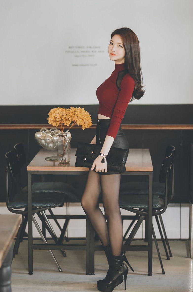 korean stockings Hot Korean Celebs — Jung Yun