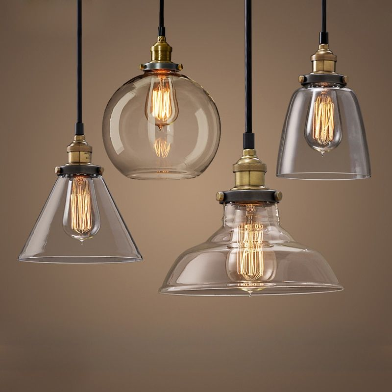 Cheap Glass Lampshades Buy Quality Light Retro Directly From China Pendant Light Retro Supplie Glass Pendant Light Glass Pendant Lamp Vintage Pendant Lighting