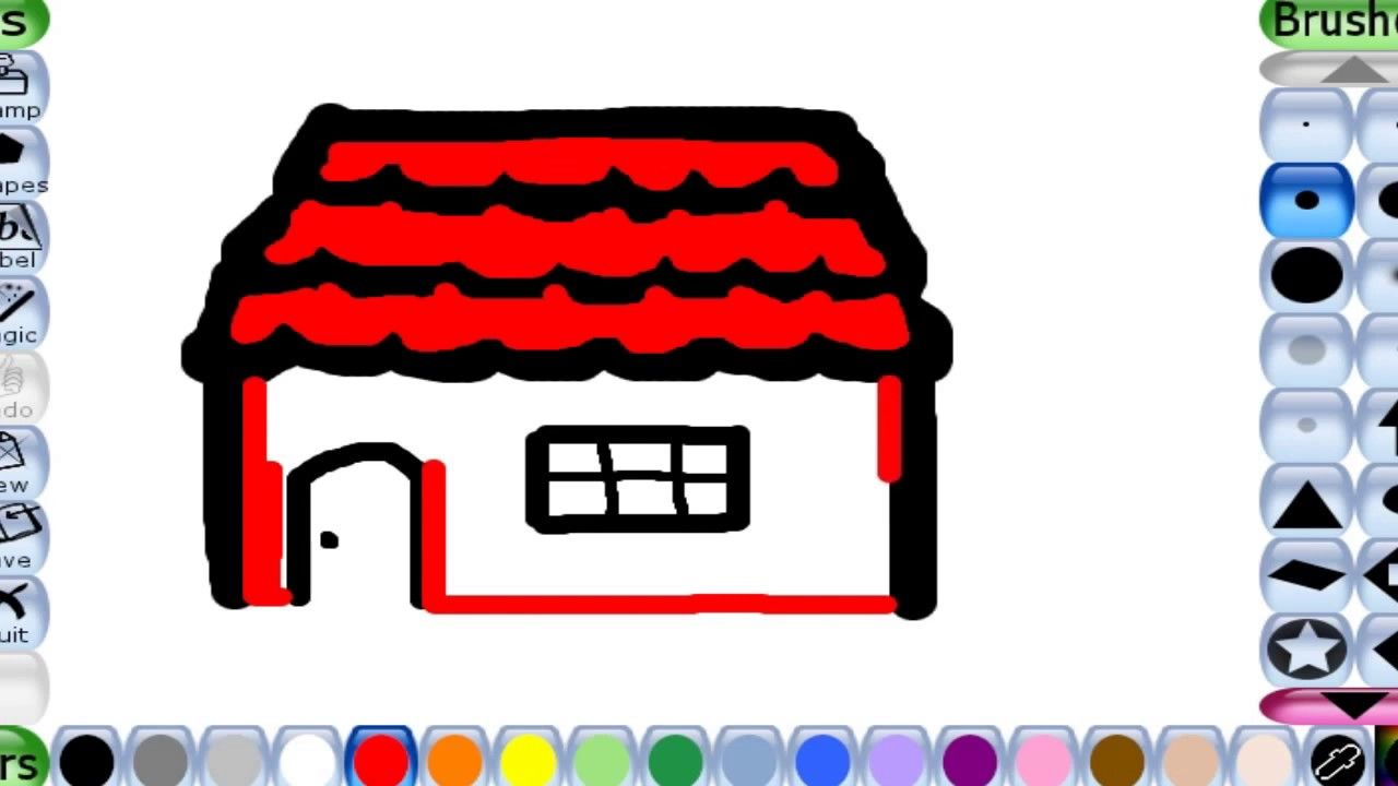 Drawing Ideas Drawing Easy Drawing Tips Kids Learning Colors Color House Drawing For Kids Drawing For Kids Cute Drawings For Kids