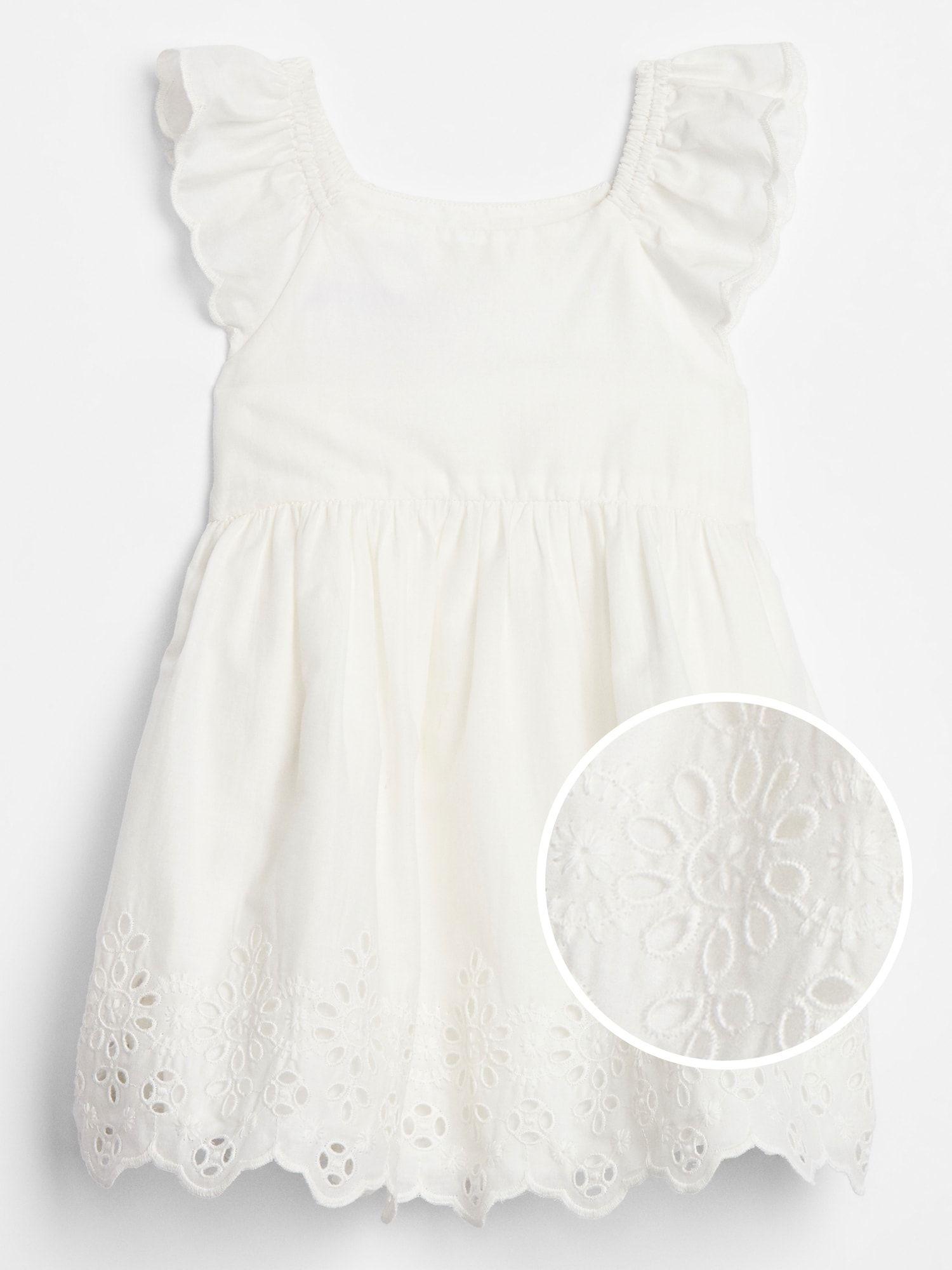 Baby Eyelet Dress Gap Factory White Eyelet Dress Lace White Dress Clothes For Women [ 2000 x 1500 Pixel ]