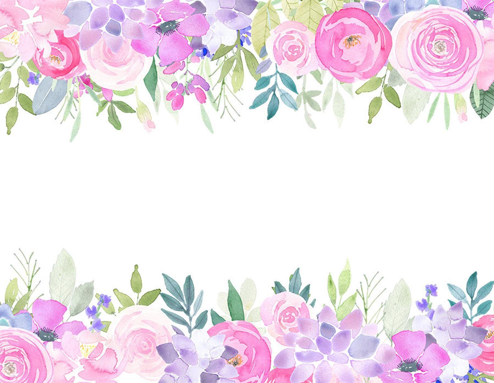 Magenta Roses Clip Art