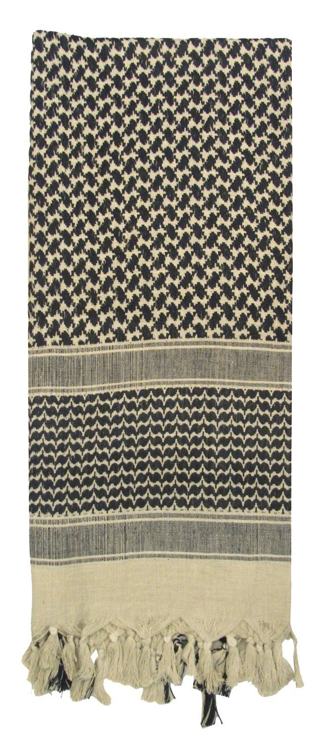 Rothco SHEMAGH TACTICAL DESERT SCARF, Tan Tactical