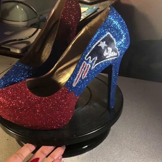 Practice will make perfect!!! #kicksonfire#patriots#heels# heelsaddict