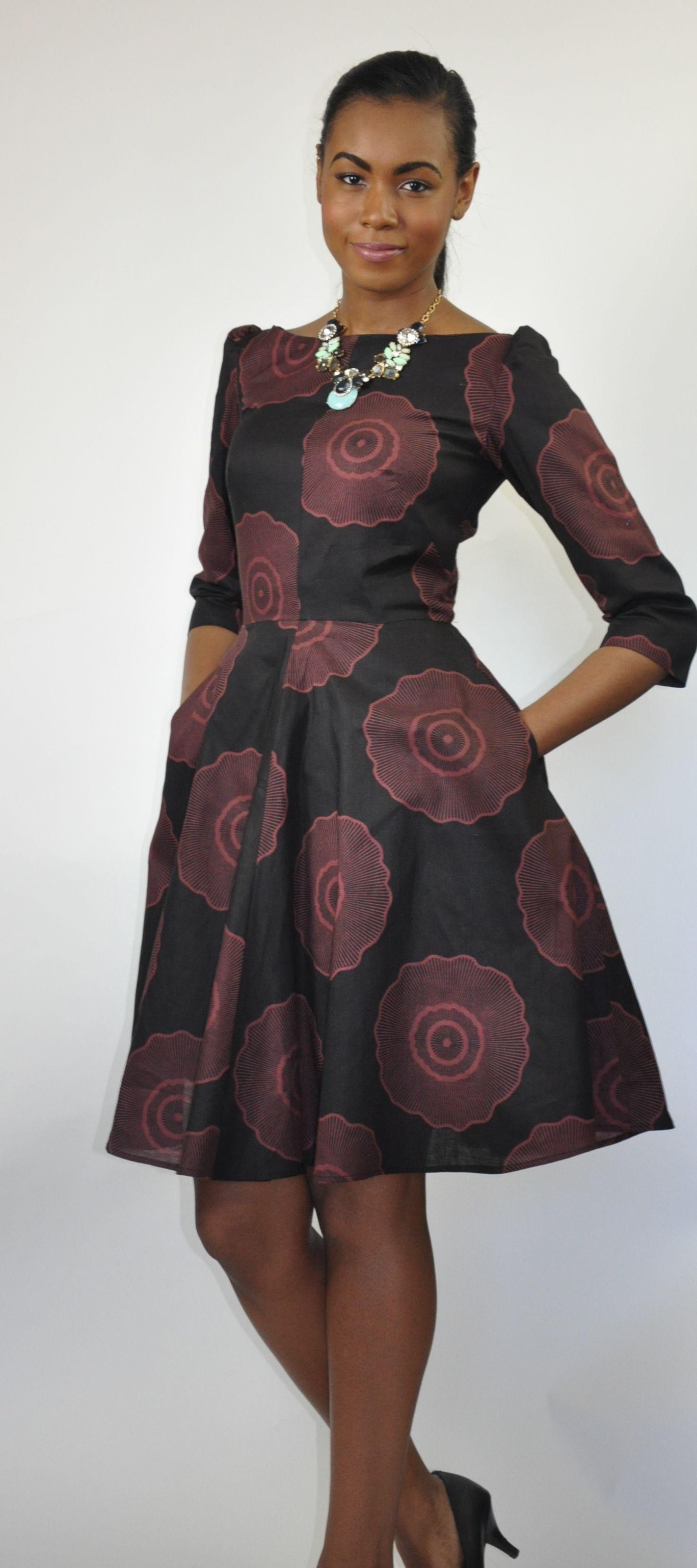 Jackie o dress african print dress african fashion ankara kitenge