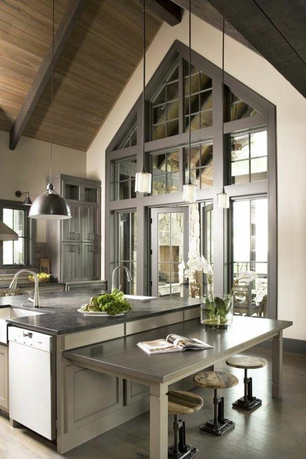 Les plus belles cuisines qui vont vous inspirer deco pinterest belle cuisine maison et for Les plus belle cuisine