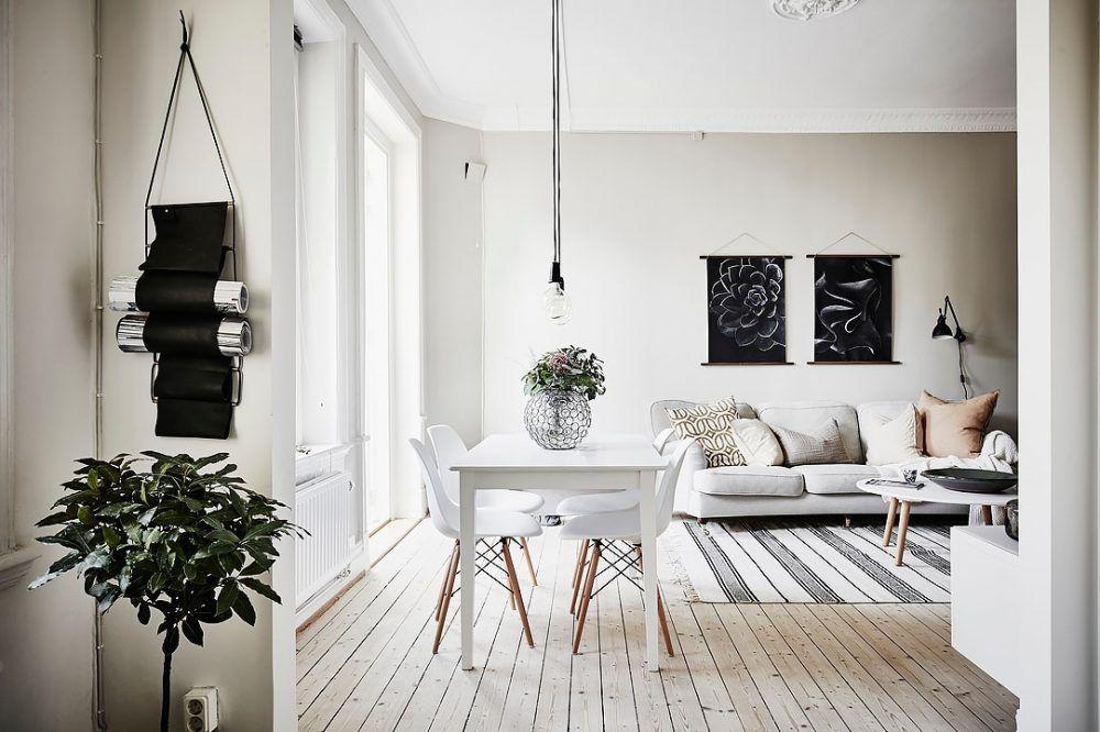 Dit Scandinavische appartement is helemaal klaar voor het najaar - Roomed