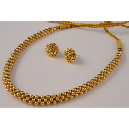6fb54c65d KOLHAPURI THUSSI NECKLACE - Online Shopping for Necklaces by pure n  precious jewels