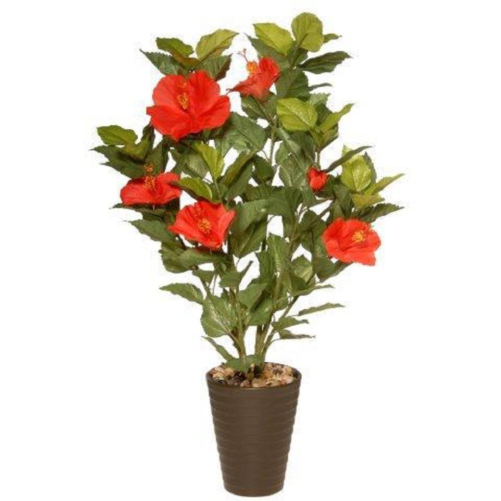 National Tree Company 22 In Potted Hibiscus Plant Ras 110lr 1
