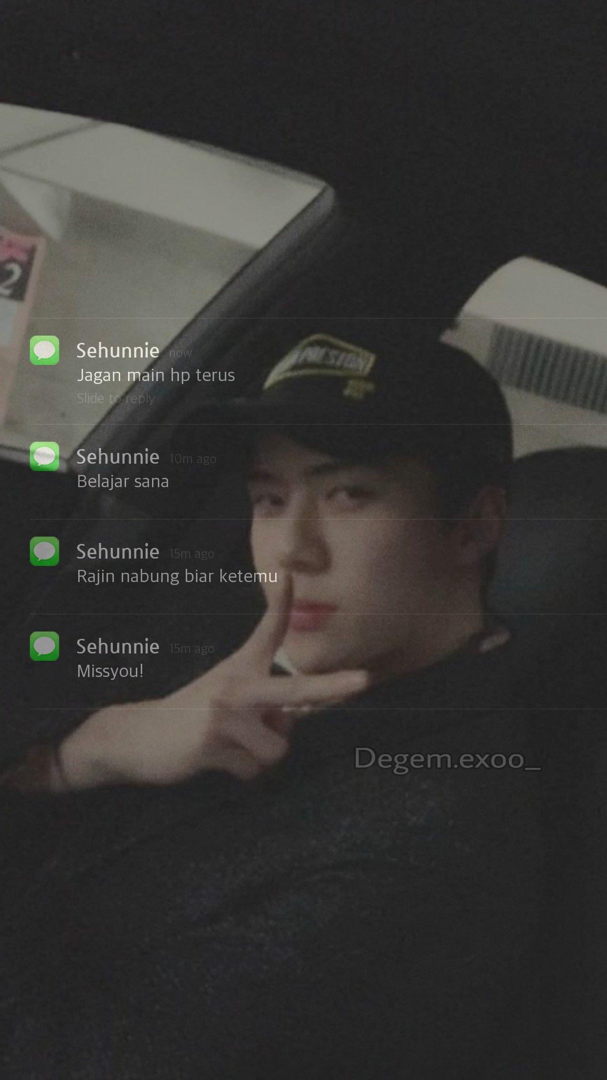 Fake Notification Chat Exo Members Terlalu Lucu Alasan Tersenyum Motivasi