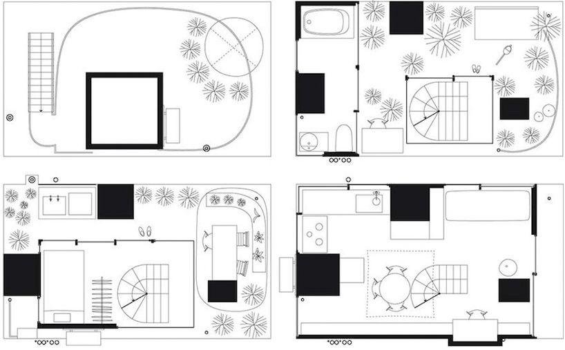 Ryue Nishizawa House Garden Project In Tokyo Japan Ryue Nishizawa Minimalist Architecture House