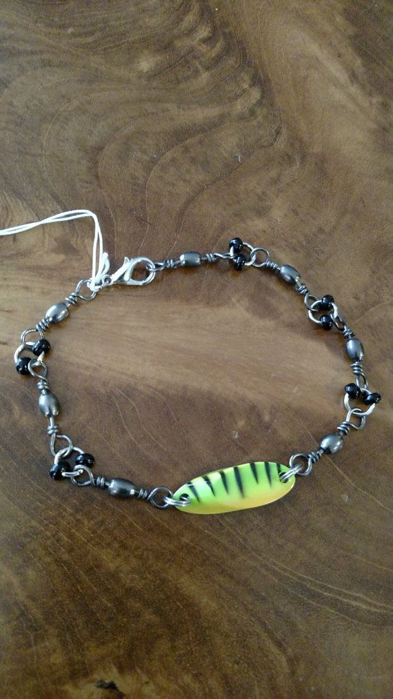 Fishing Lure Bracelet