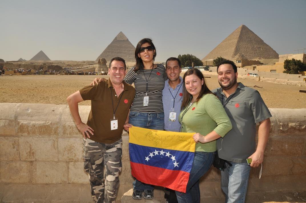 Conoce la cultura y arte antiguo de Egipto, disfruta junto a los asesores de Seguros Caracas en la primera convención de este 2013