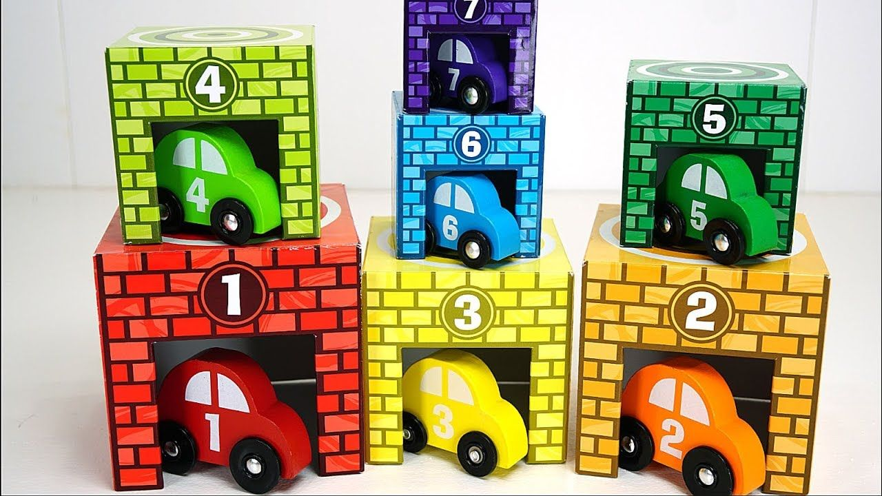 Teach Toddlers Colors and Counting with Sorting Toy Cars