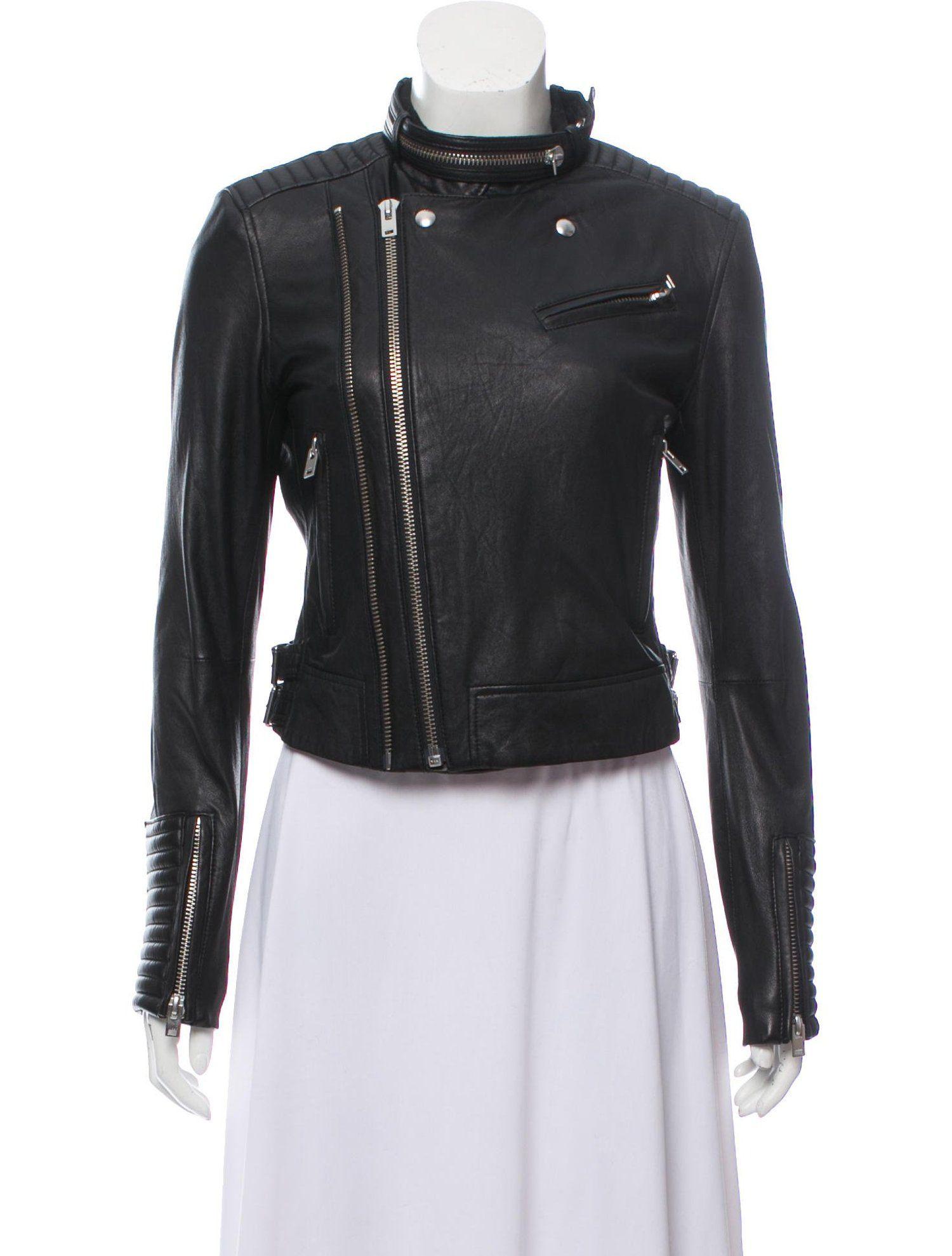 Iro Luciaspe Leather Jacket Clothing Wir48707 The Realreal Clothes Leather Jacket Jackets [ 1978 x 1500 Pixel ]
