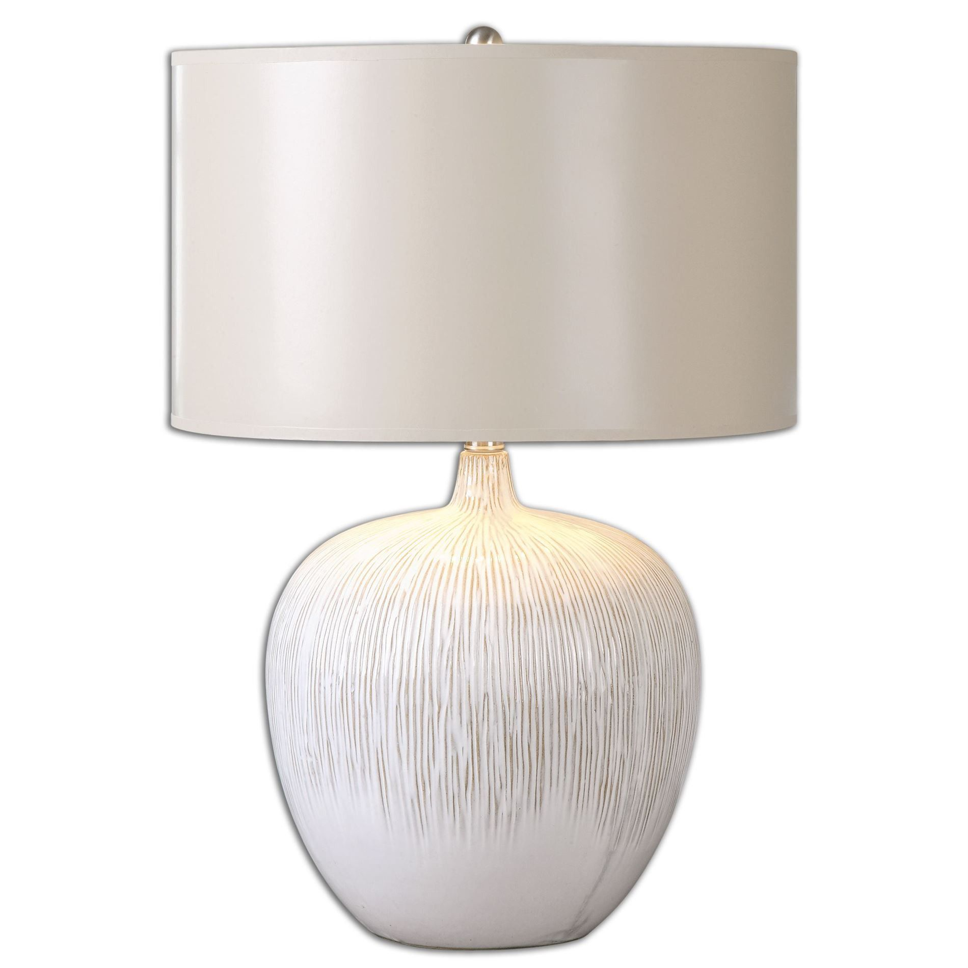 Textured Ceramic Accent Lamp (With images