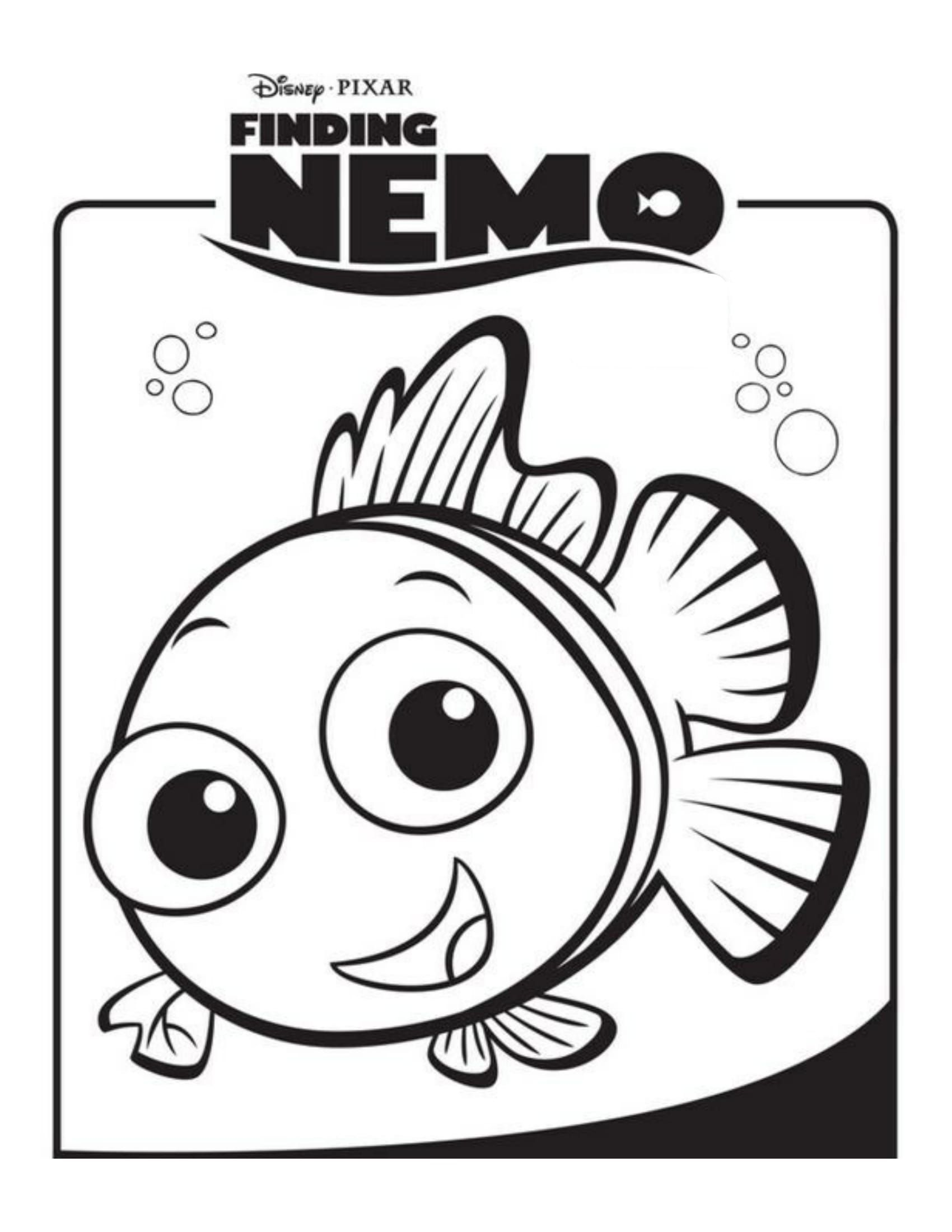 Finding Nemo | Disney Coloring Pages: Movie Covers | Pinterest