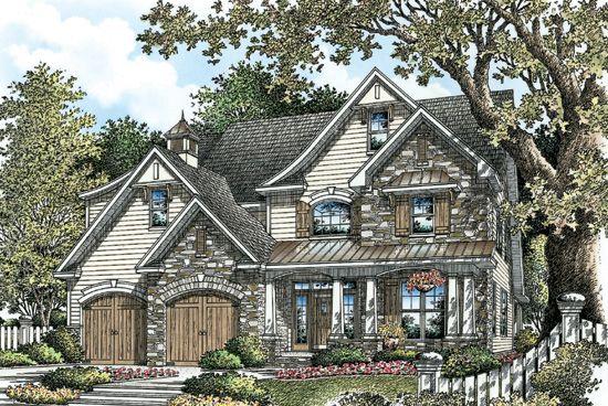 The Arcadia Plan 1172 Craftsman House Plans Garage House Plans Luxury House Plans