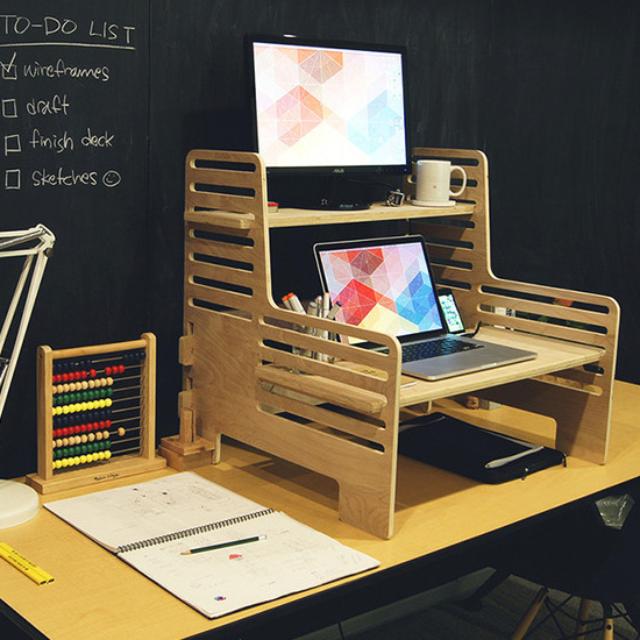 A Brilliant Affordable Standing Desk Solution Affordable Standing Desk Diy Standing Desk Standing Desk Solutions