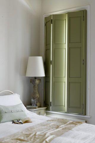 shutters in slaapkamer ipv gordijnen? | Plantation Shutters ...