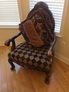 Cool Antique Accent Chairs 70 Each Mississauga Peel Region Bralicious Painted Fabric Chair Ideas Braliciousco