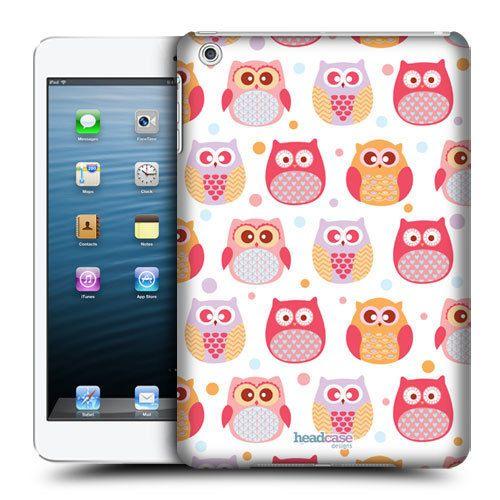 HEAD-CASE-STUNNED-LITTLE-OWL-KAWAII-DESIGN-BACK-CASE-COVER-FOR-APPLE-iPAD-MINI