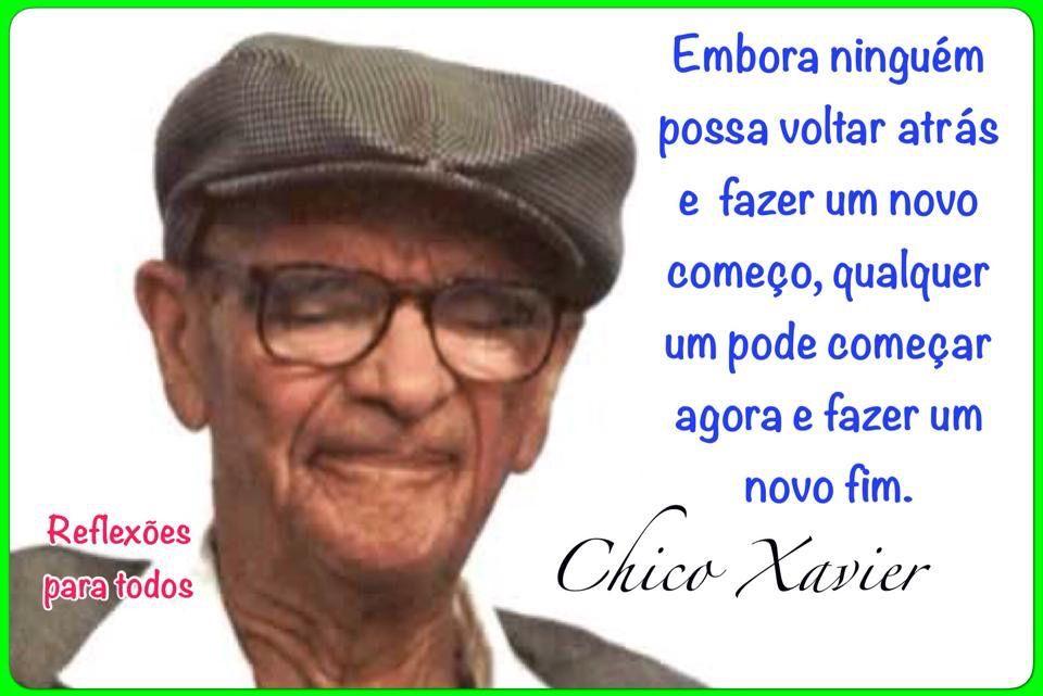 Bencao Chico Xavier Com Imagens Chico Xavier Chico Xavier