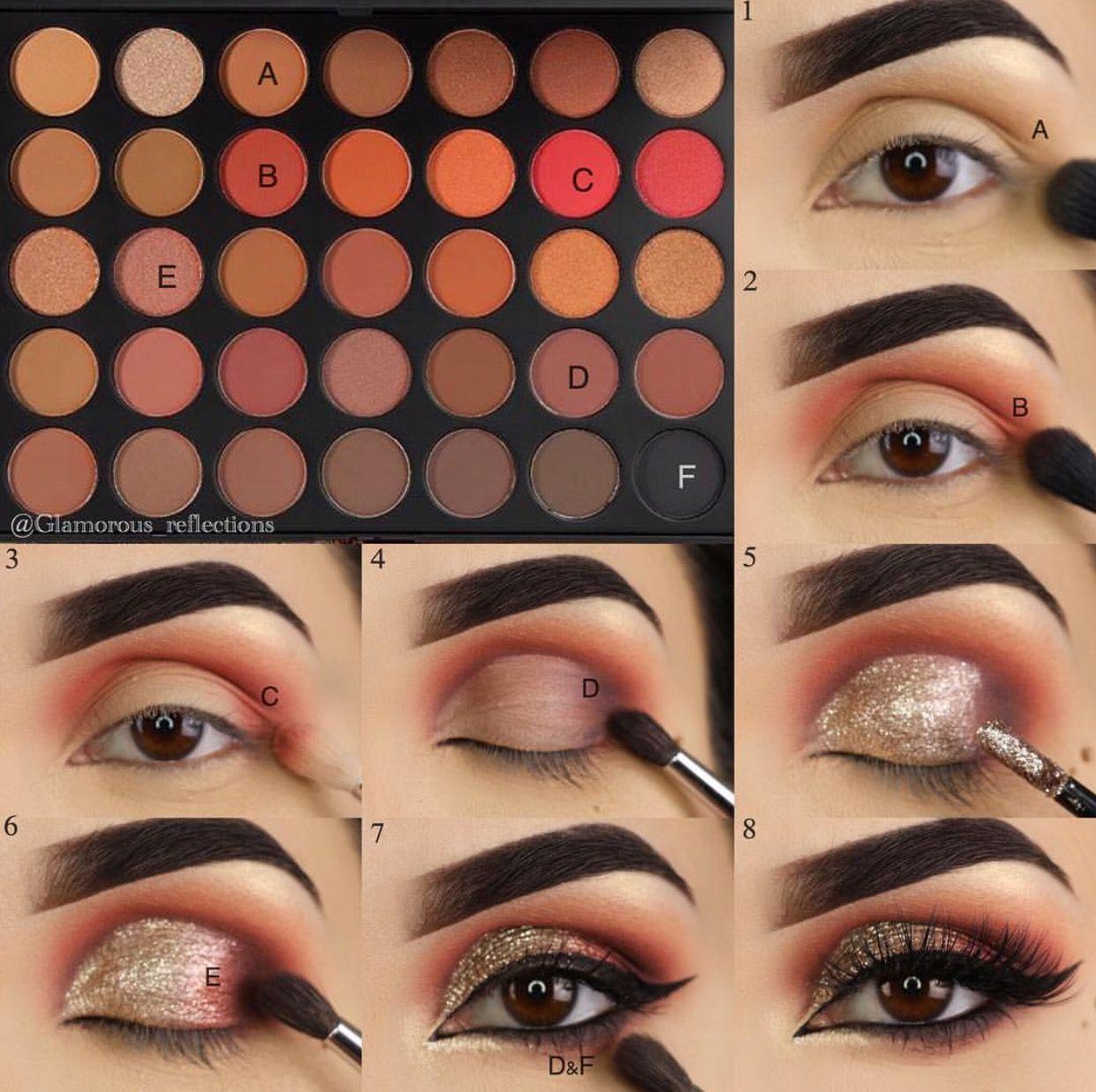 f7a33a161 Love these helpful natural eye makeup Pic# 9333. Maquillaje Ojos Negros, Maquillaje  Graduacion, Maquillaje Sombras, Maquillaje De Belleza, Tutoriales De