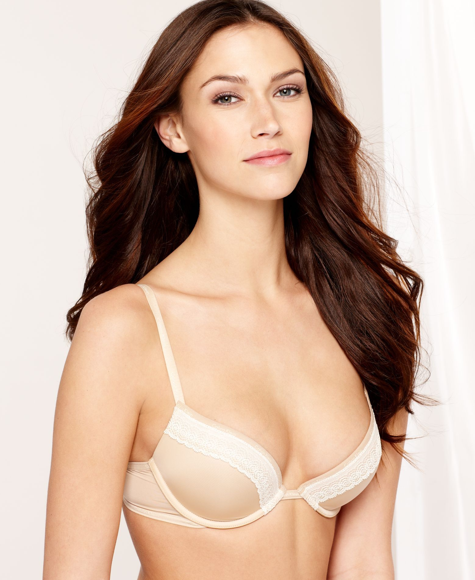 70310a4338b Calvin Klein Perfectly Fit Sexy Signature Push Up Underwire Bra F3263